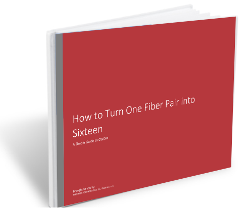How to Turn One Fiber Pair into Sixteen